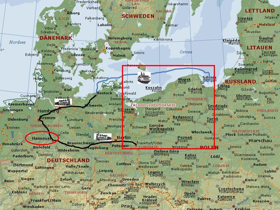 Hannover Bike Boys Tour  Radtour 2010 Poland