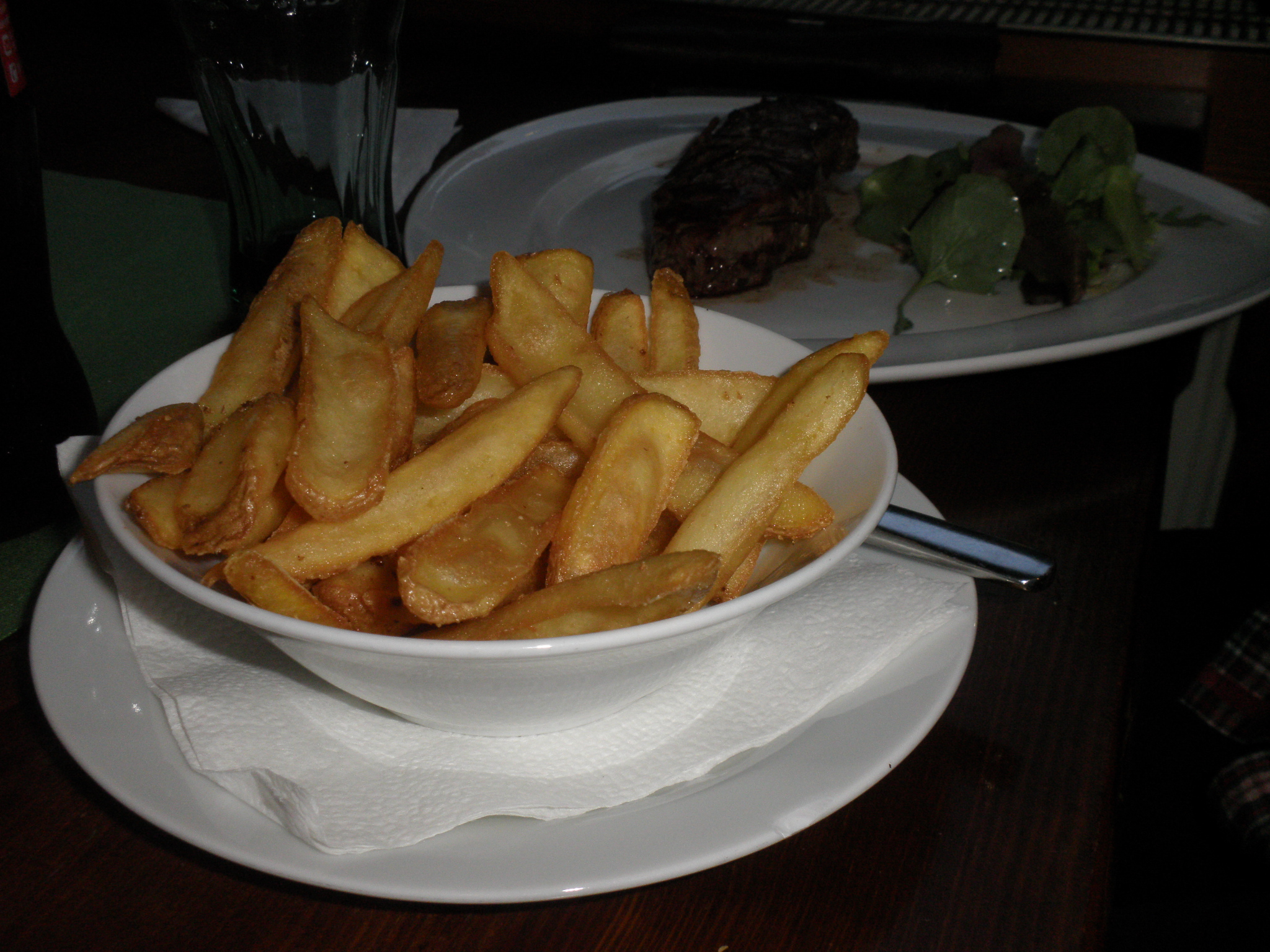 Beef with chips